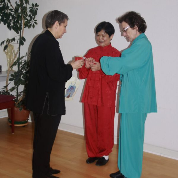 Unterricht mit der Großmeisterin Liu Ya Fei
